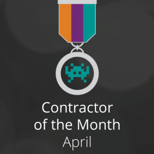 Congratulations to our Contractor of the Month for April: Farooq Awan