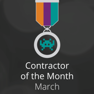 Congratulations to our Contractor of the Month for March: Phil Kirk