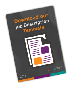 Job Description Template NZ