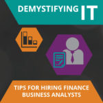 Finance Business Analysts