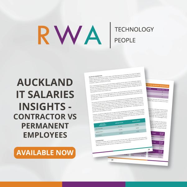RWA Auckland IT Salaries Insights – Contractors vs Permanent